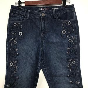 Style & Co | Embroidered Ankle Jeans 8P